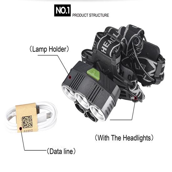 Đèn sử dụng dây sạc USB