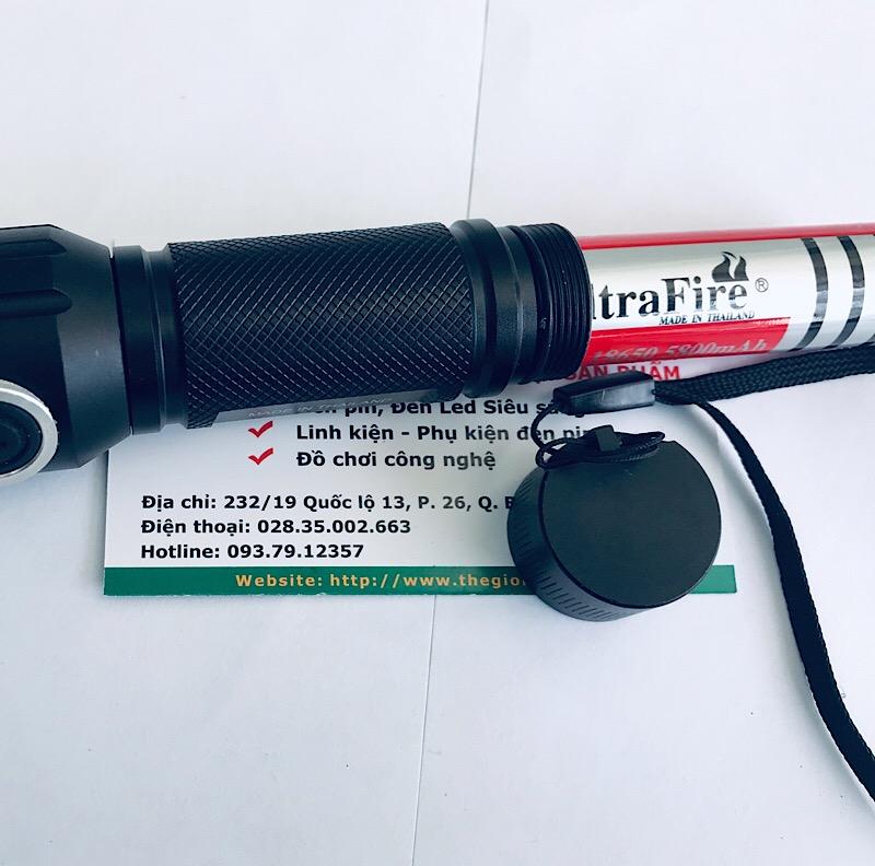 Đèn sử dụng 1 pin sạc 18650