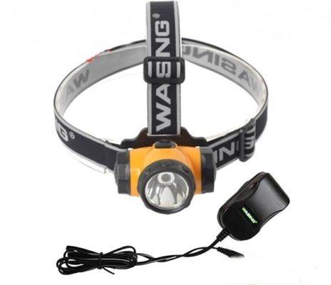 Đèn pin đeo đầu chống cháy nổ Wasing WSL-698